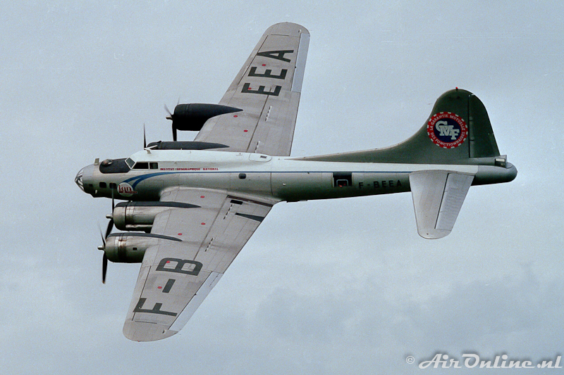 F-BEEA Boeing B-17G Flying Fortress IGN